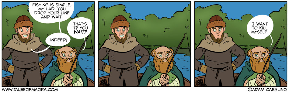 The Joys of Fishing