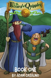 The Wizard of Quippley, Book One