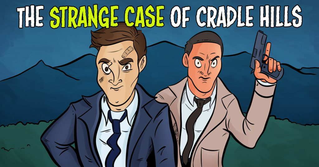 The Strange Case of Cradle Hills, Paranormal mystery by Adam Casalino